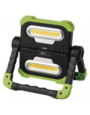 COB LED nabíjací pracovný reflektor P4536, 2000 lm, 8000 mA