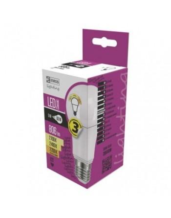 LED žiarovka Classic A60 9W E27 so zmenou CCT 2200K - 2700K